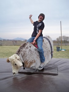Running Mechanical Bull