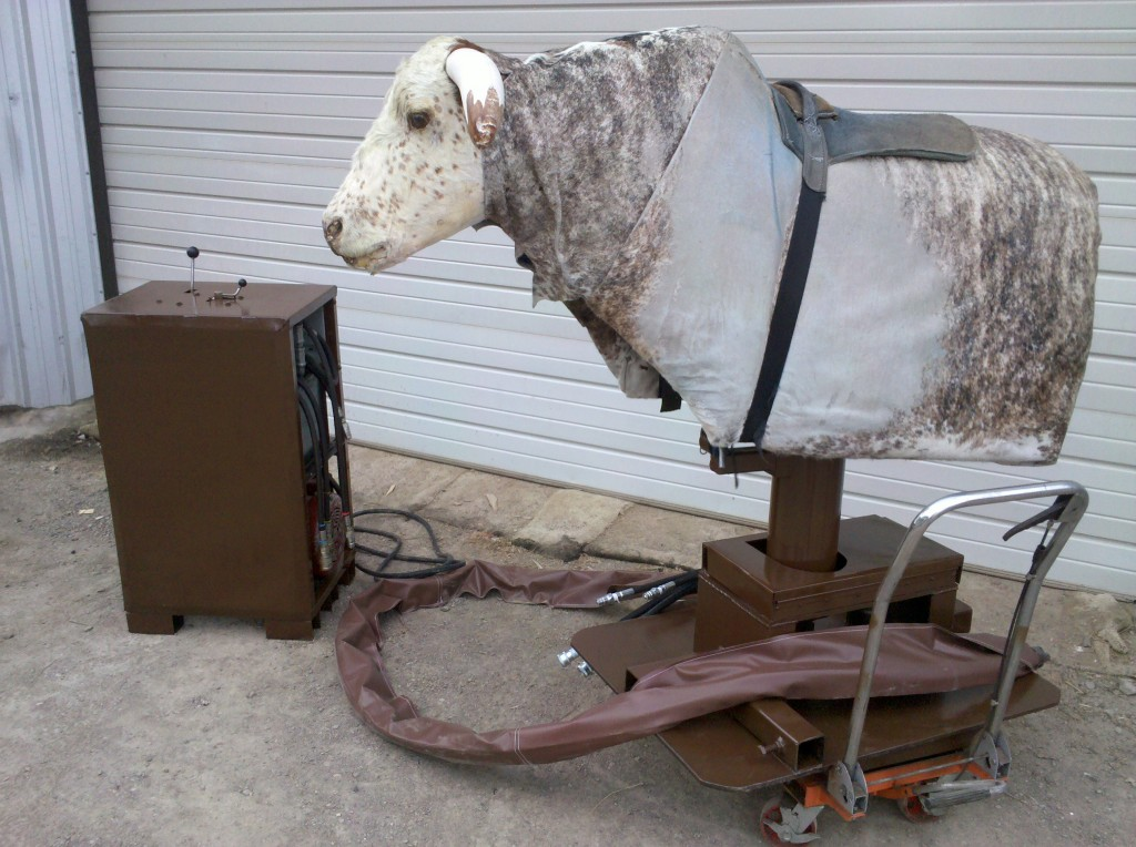 Hydraulic mechanical bull for sale